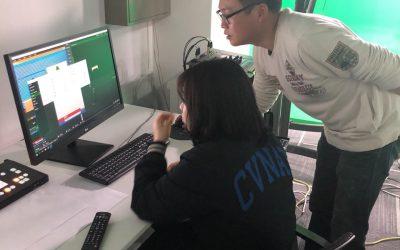 고양, 크로마키 & VR 체험 교육 진행